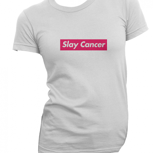 SlayCancer_Tee_White_NoBody_Product