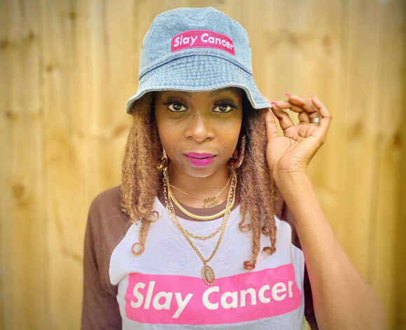 LDC Capsule Collection, 'Slay Cancer' Bucket hat